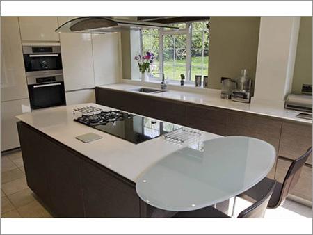 Acrylic - Lacquered Modular Kitchen
