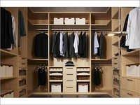 Fiber Wood Wardrobe