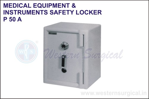 Medical Equipment & Instrument Safety Locker