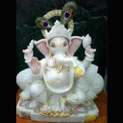 Marble Moorti Ganesh Statue