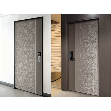 Digital Steel Doors