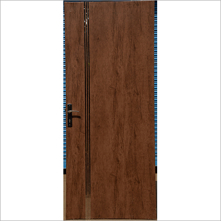 Motorized Steel Front Door
