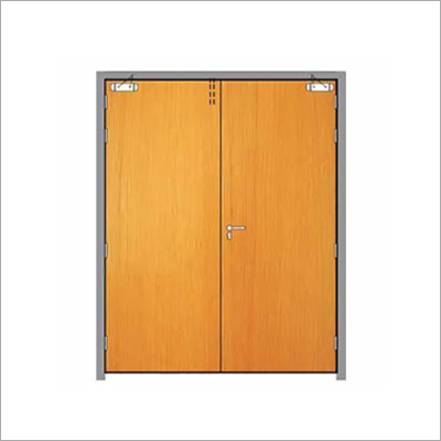 Wood Finished Fire Door