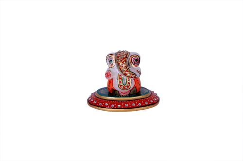 Antique Marble Ovel Ganesh 3*4