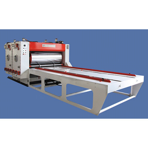 Chain Feed Two Colour Flexo Printer