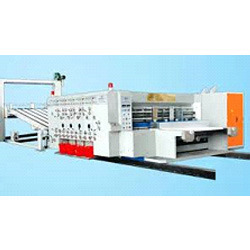 High Speed Automatic Flexo Printer & Slotter Machine