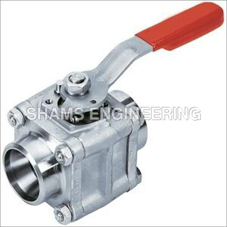 Three Pic Ball Valves