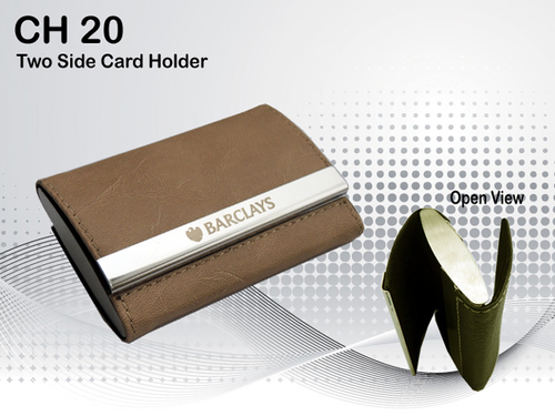 Two Side Card Holder