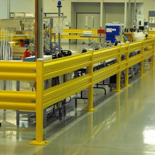 Industrial Guard Rail