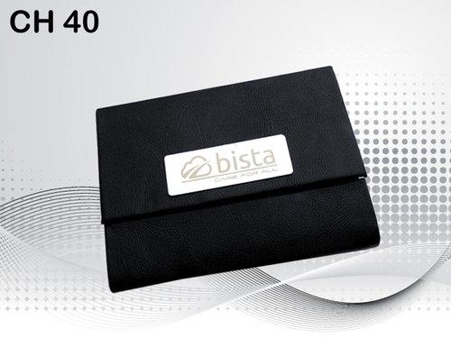 Black Color Card Holder