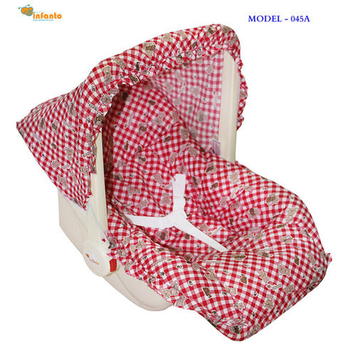 Delux Baby Carry Rocker- Red