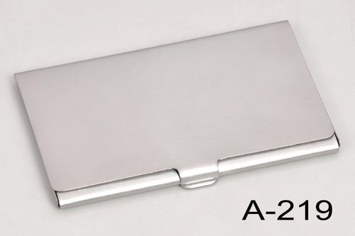 Promotional Metal Card Holder