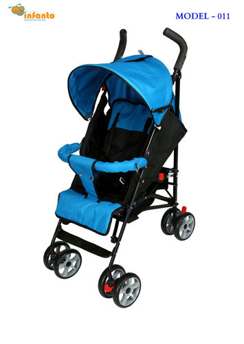 New Black and Blue Baby Zippy Buggy