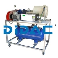 Single Stage Air Compressor Test Set Air Cooled