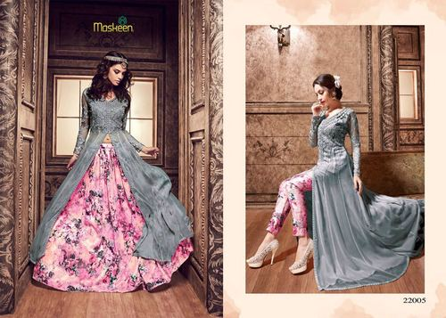 Ghaghra Style Suit