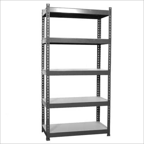 Slotted Angle Steel Rack
