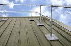 Rooftop Safety Railing