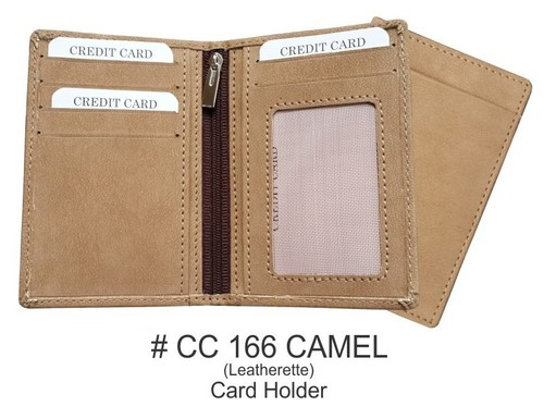 Leatherette Credit Card Holder