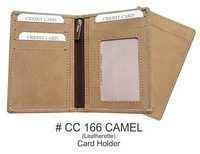 Leatherette Credit Card Holder