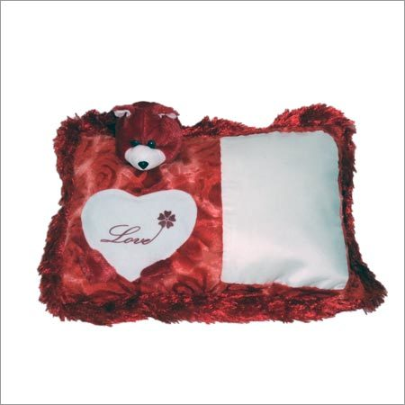 Sublimation Teddy Love Pillow