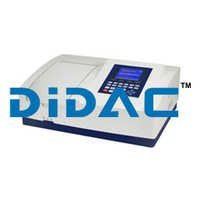 Double Beam Spectrophotometer