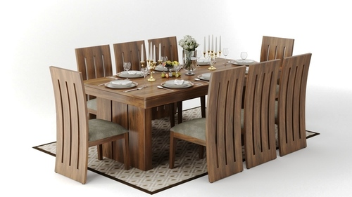 Modern Wooden Dining Set