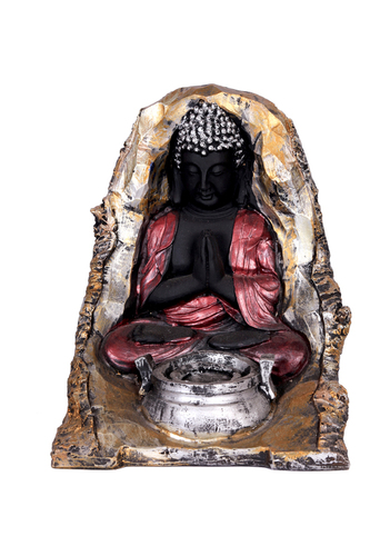 ANTIQUE FOUNTEN BUDHA 8""