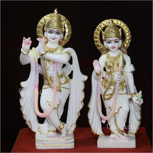 Marble Radha Krishna Murti