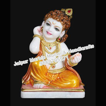 Marble Stone Bal Krishna Moorti