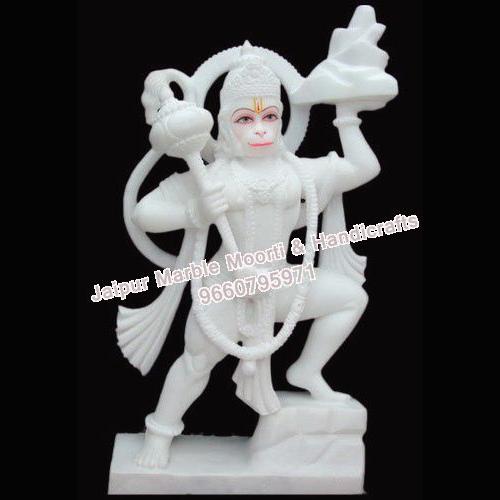 Marble Decorative Hanuman Murti