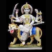 Marble Moorti Durga Statue