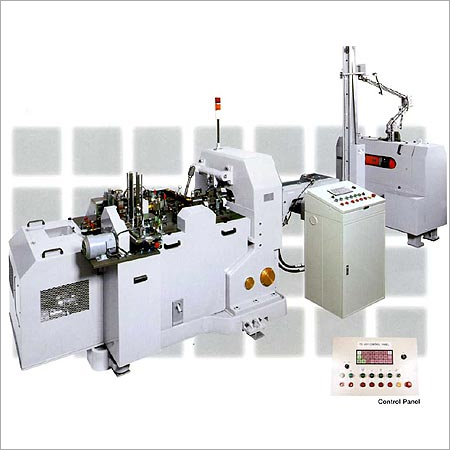 Automatic Metal Jacket Making Machine
