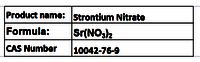 Strontium Nitrate