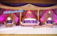 Awesome Wedding Fiber Stage Set