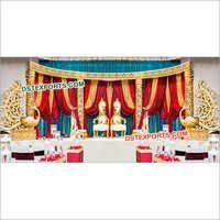 Gorgeous Wedding Fiber Stage Decors