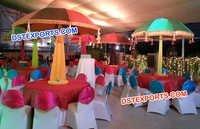 Reception Wedding Parsols Decoration