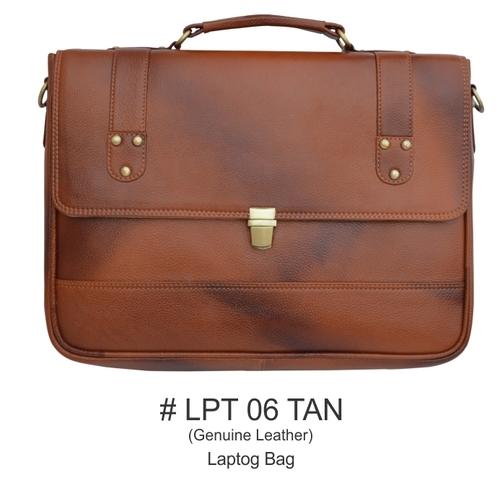Laptop Bag in TAN Color