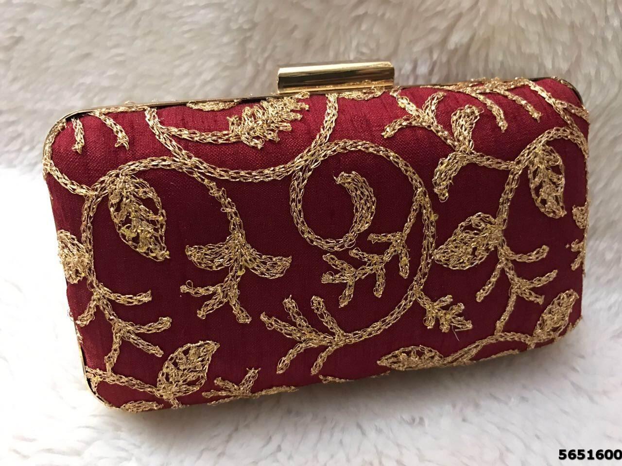 Fashionable Box Clutch