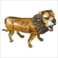 FRP Lion Statue For Garden Decoration