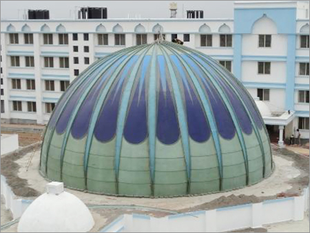 FRP Domes for Roof Decoration