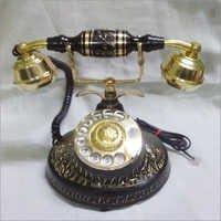 Antique Brass Telephones