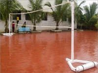 Portable Volleyball and Badminton Posts - International