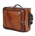 Leather Overnighter Trolley
