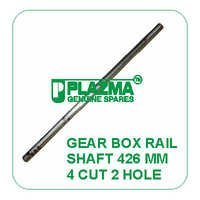 Gear Box Rail Shaft 426 mm 4 cut 2 Hole John Deere