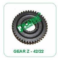 Gear Z - 42/22 Green Tractor