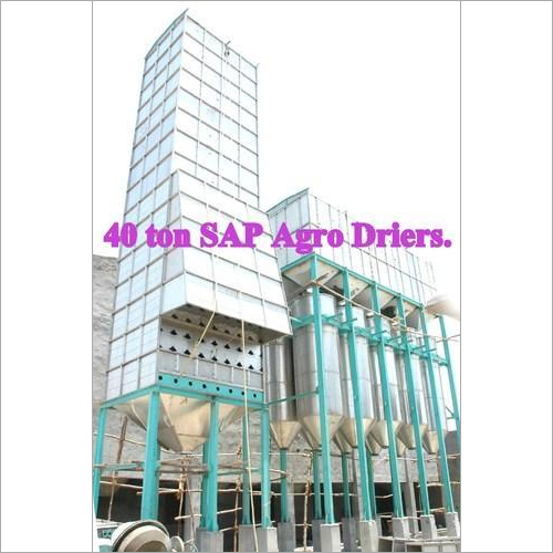 Paraboiling Dryer Plant