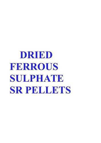 Dried Ferrous Sulphate SR Pellets