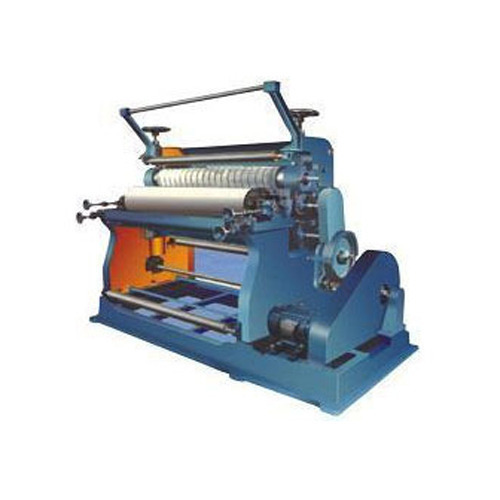 Vertical Type paper Corrugating Machine