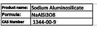 Sodium Aluminosilicate