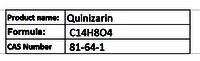 Quinizarin